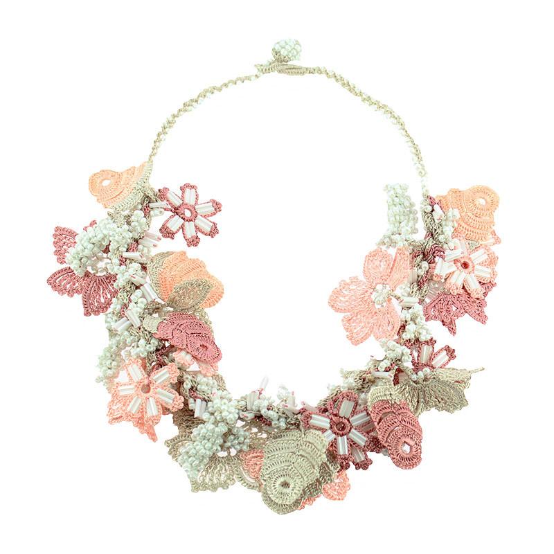 zoom Pink Necklace. Balenciaga