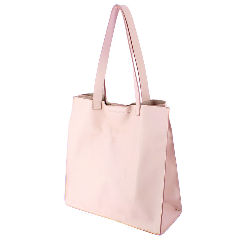 zoom Pink Leather Bag