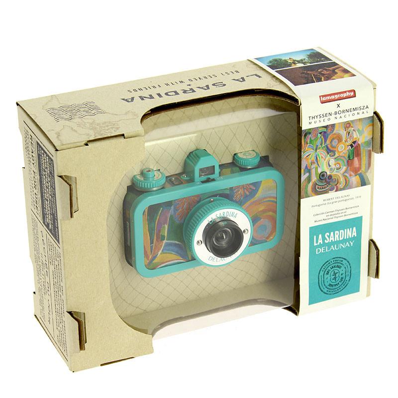 zoom La Sardina Delaunay Lomography Camera