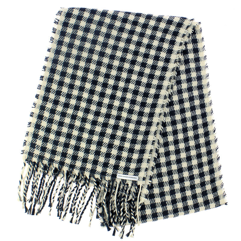 zoom The Impressionists and Photography Black and Cream Scarf