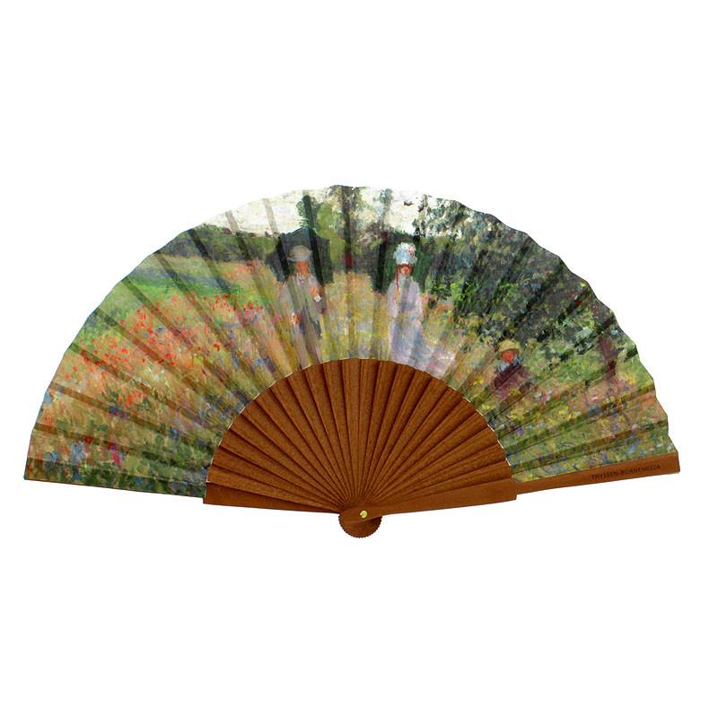 zoom Fan A Walk Near Argenteuil by Monet