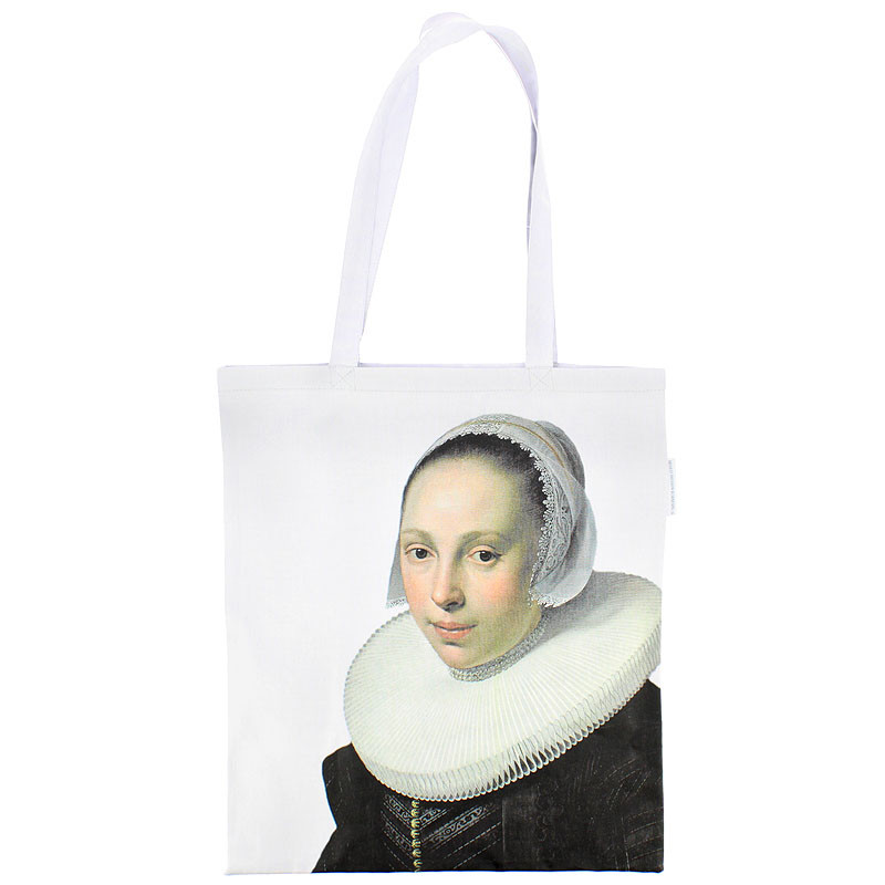 zoom Tote Bag. Nicolaes Eliaz Portrait of a Woman.