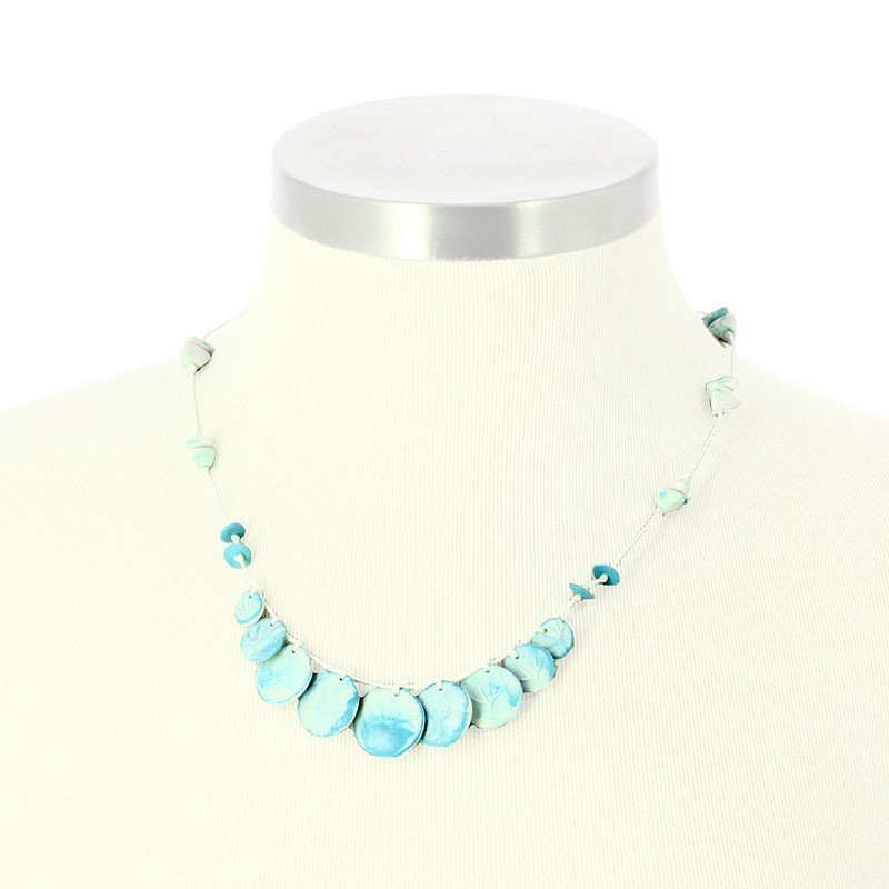 zoom Porcelain Choker Necklace The flood in Port Marly Sisley