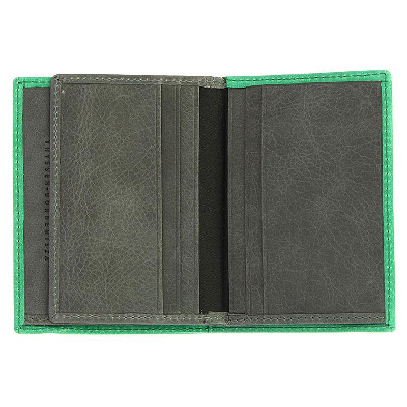 zoom Schwitters Green/Grey Wallet
