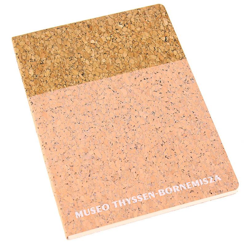 zoom Cork Notebook: Pink
