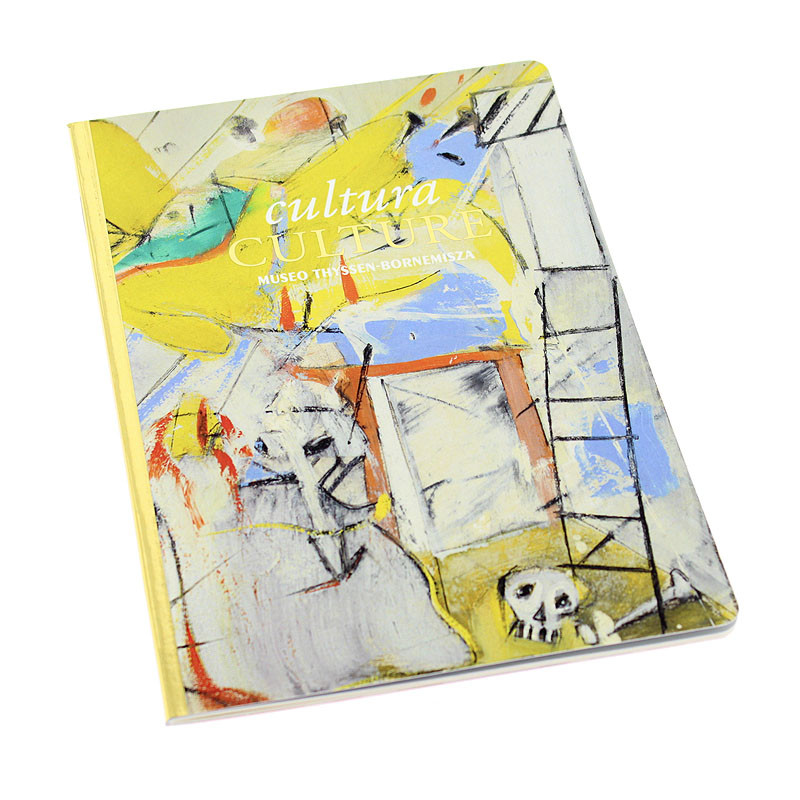 zoom Culture Notes Notebook. Willem de Kooning's Abstraction