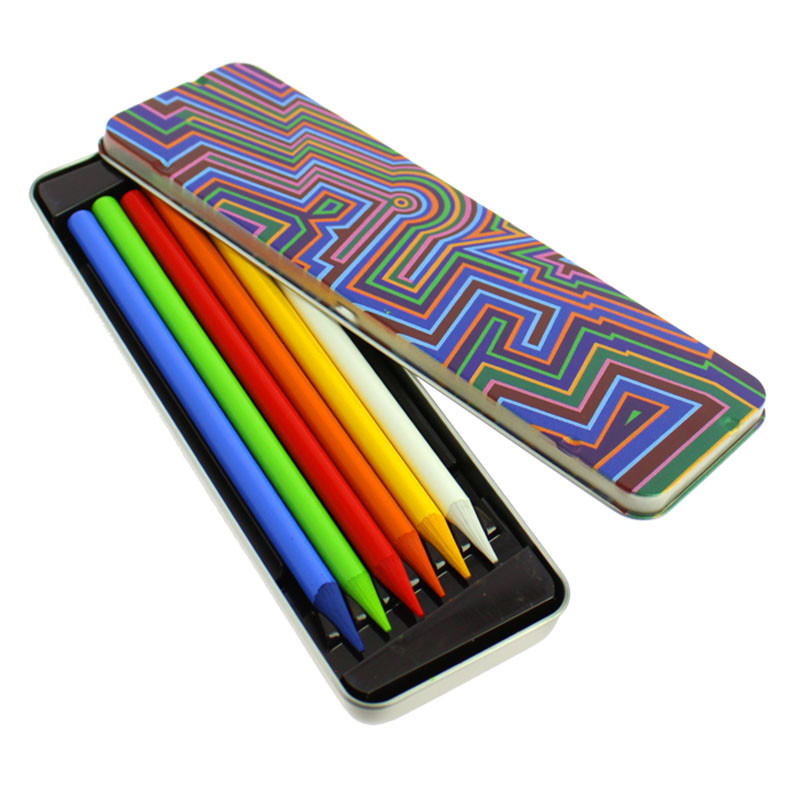 zoom Vasarely's Zint-MC Case of 6 Solid Graphite Woodless Color Pencils