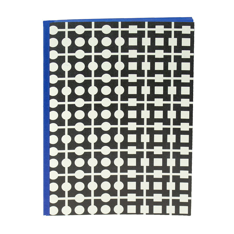 zoom Blue Notebook of Vasarely