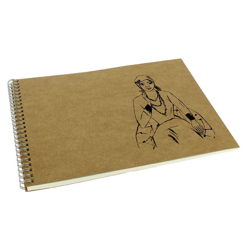 zoom Beckmann: Quappi Oblong Sketchpad