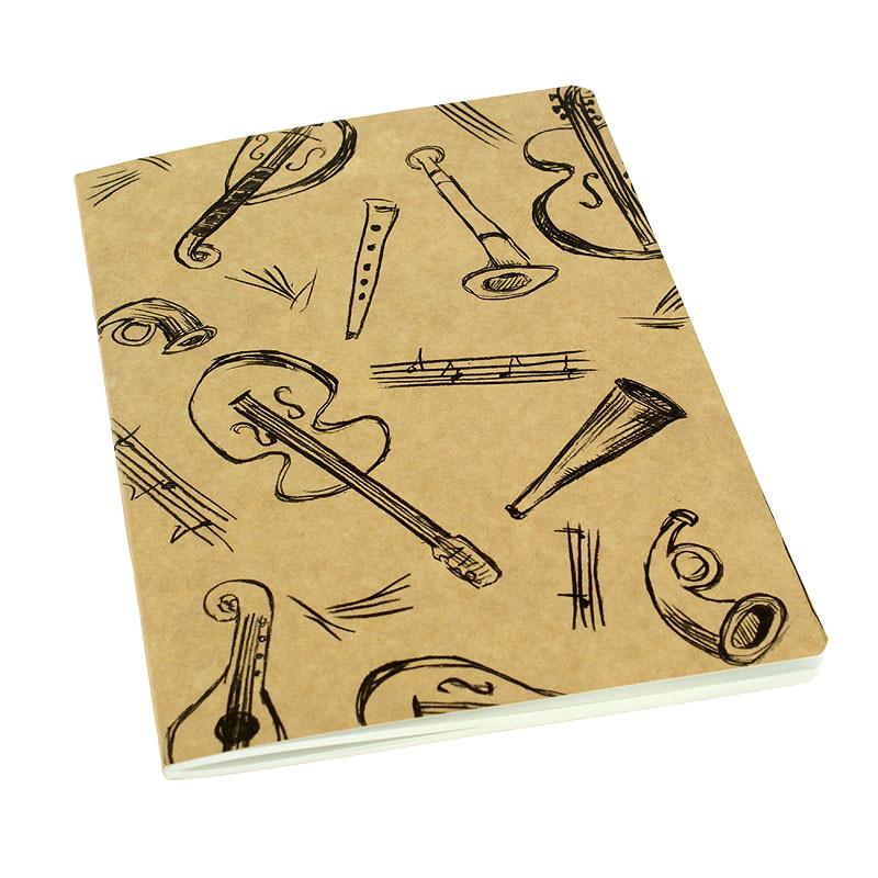 zoom Beckmann Musical Instruments Notebook
