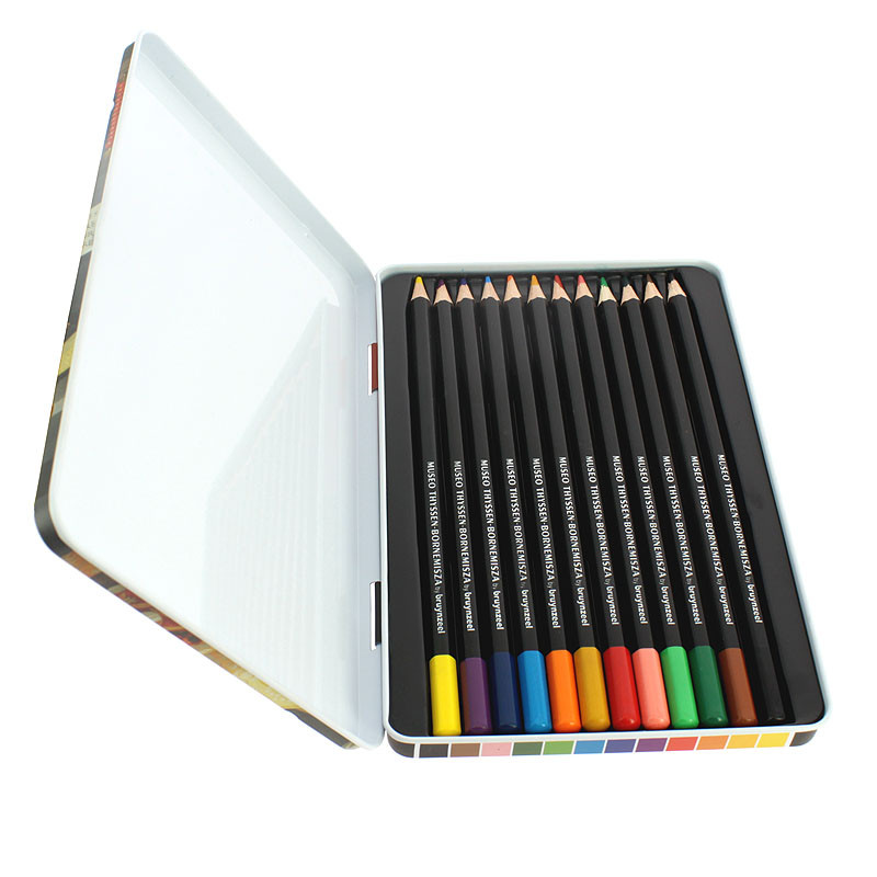 zoom Giovanna's Boxset of 12 color pencils by Bruynzeel