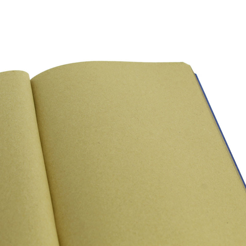 zoom Blue cover with sand color pages Notebook