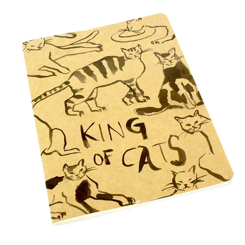 zoom Balthus Cat Notebook