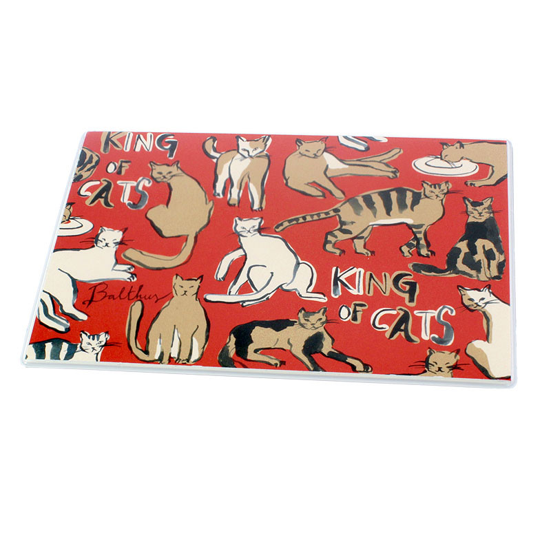 zoom Cat Little Mouse Pad by Balthus