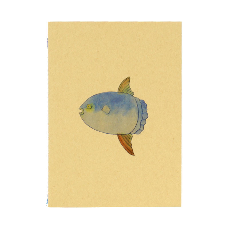 zoom Blue Fish Notebook. Joan Jonas