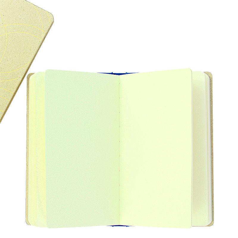 zoom Red cardboard notebook