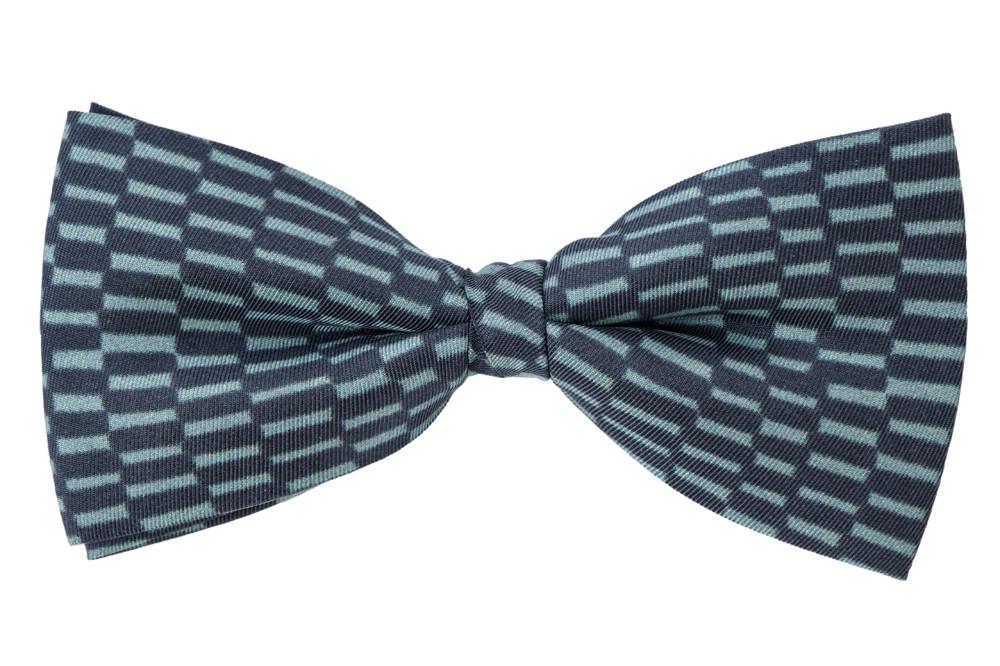 zoom Silk Bow Tie Delaunay