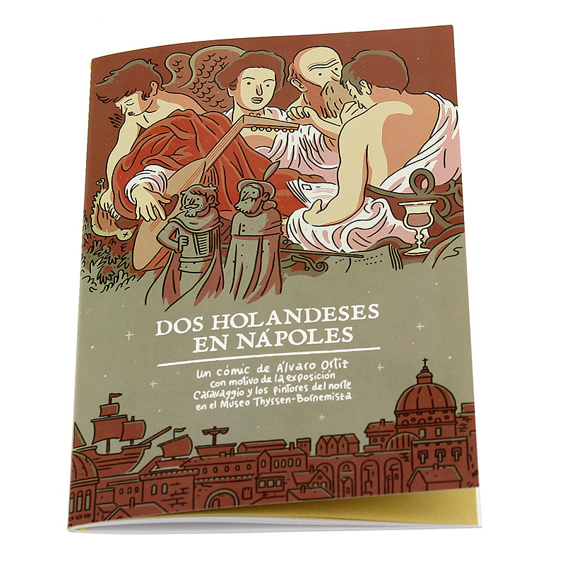 "zoom Comic book ""Dos holandeses en Nápoles"" (Spanish)"