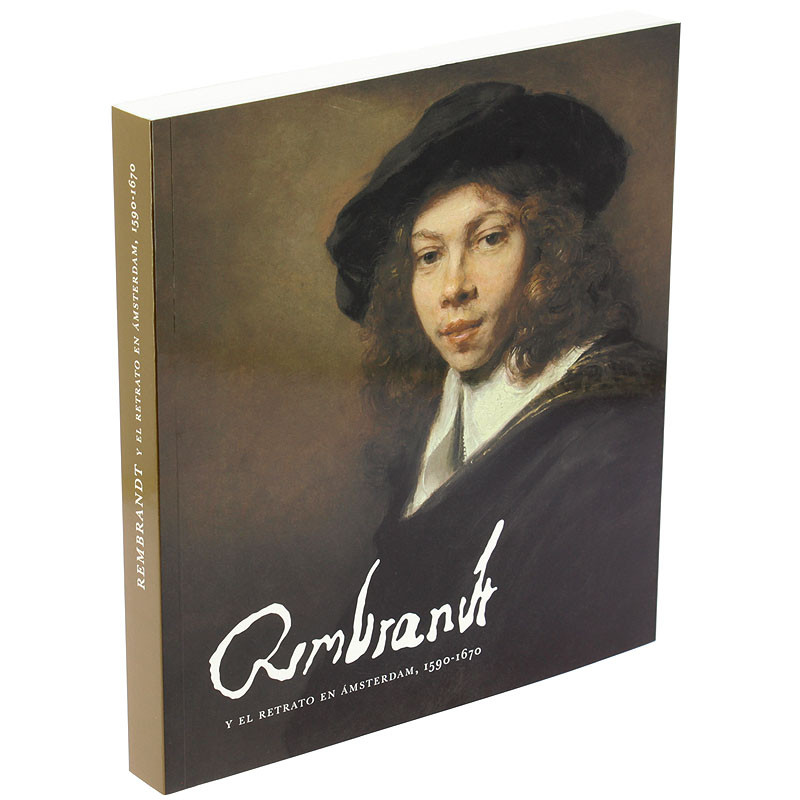 """zoom Exhibition catalogue """"Rembrandt and Amsterdam portraiture, 1590-1670"""" (Spanish paperback)"""