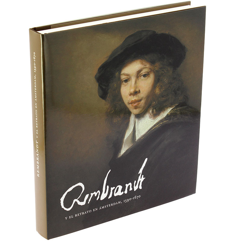 "zoom Exhibition catalogue ""Rembrandt and Amsterdam portraiture, 1590-1670"" (Spanish hardcover)"