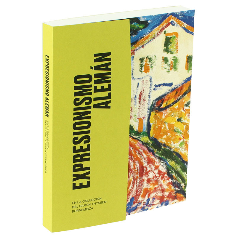 zoom German Expressionism from the Baron Thyssen-Bornemisza Collection exhibition catalogue (Spanish with English booklet)