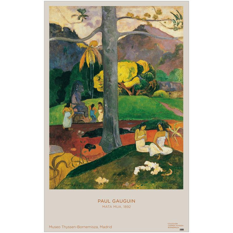 zoom Poster Paul Gauguin: Mata Mua