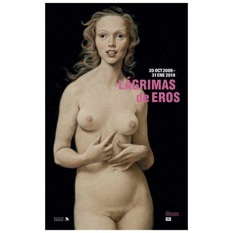 zoom Poster Honeymoon Nude of John Currin