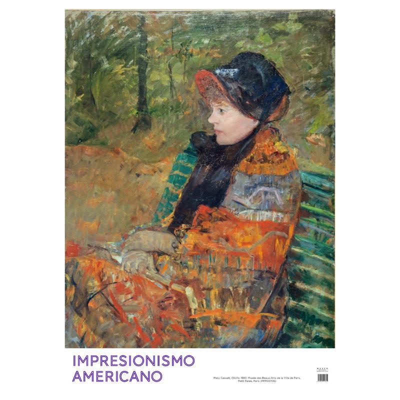 zoom Poster Impresionismo Americano: Otoño