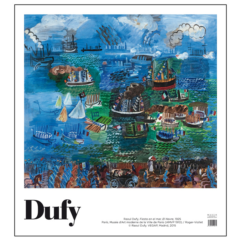 zoom Poster Raoul Dufy: Nautical Festival at Le Havre