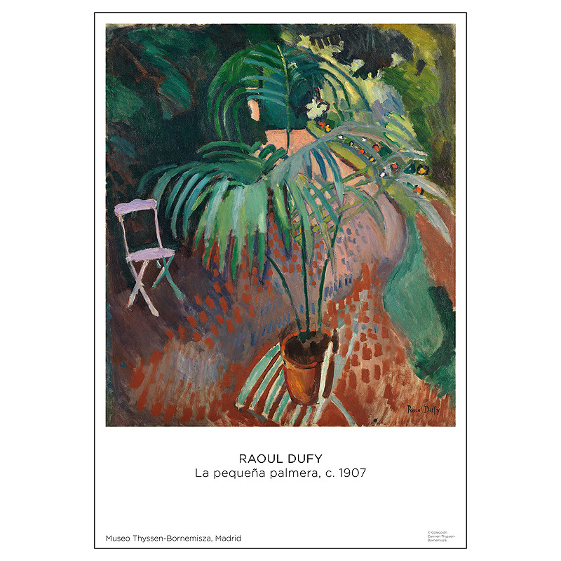 zoom Poster Raoul Dufy: The Little Palm Tree