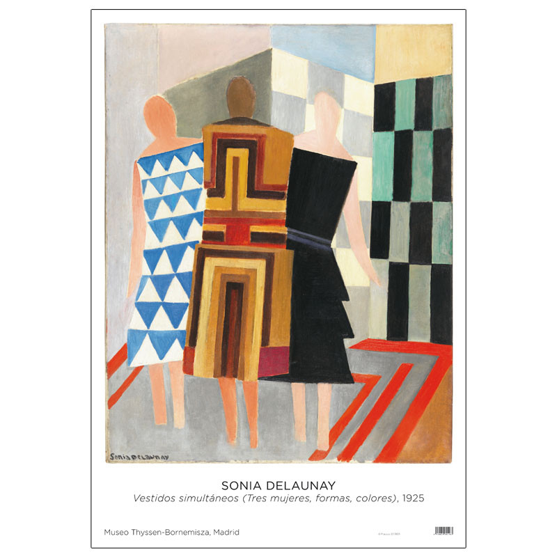 zoom Poster Sonia Delaunay: Simultaneous Dresses