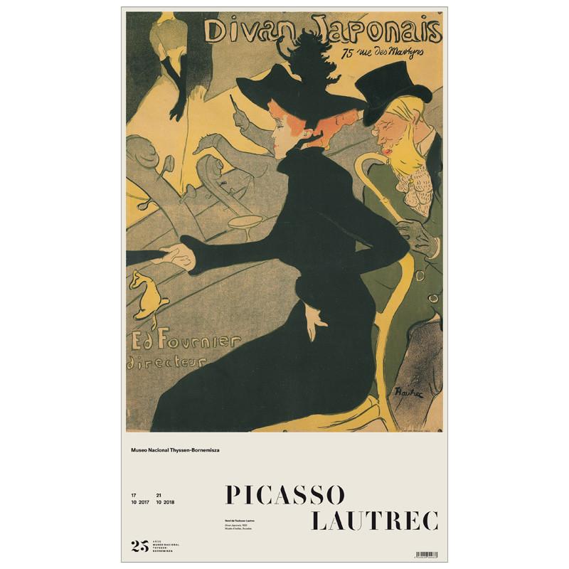 zoom Poster Divan Japonais (Toulouse-Lautrec)