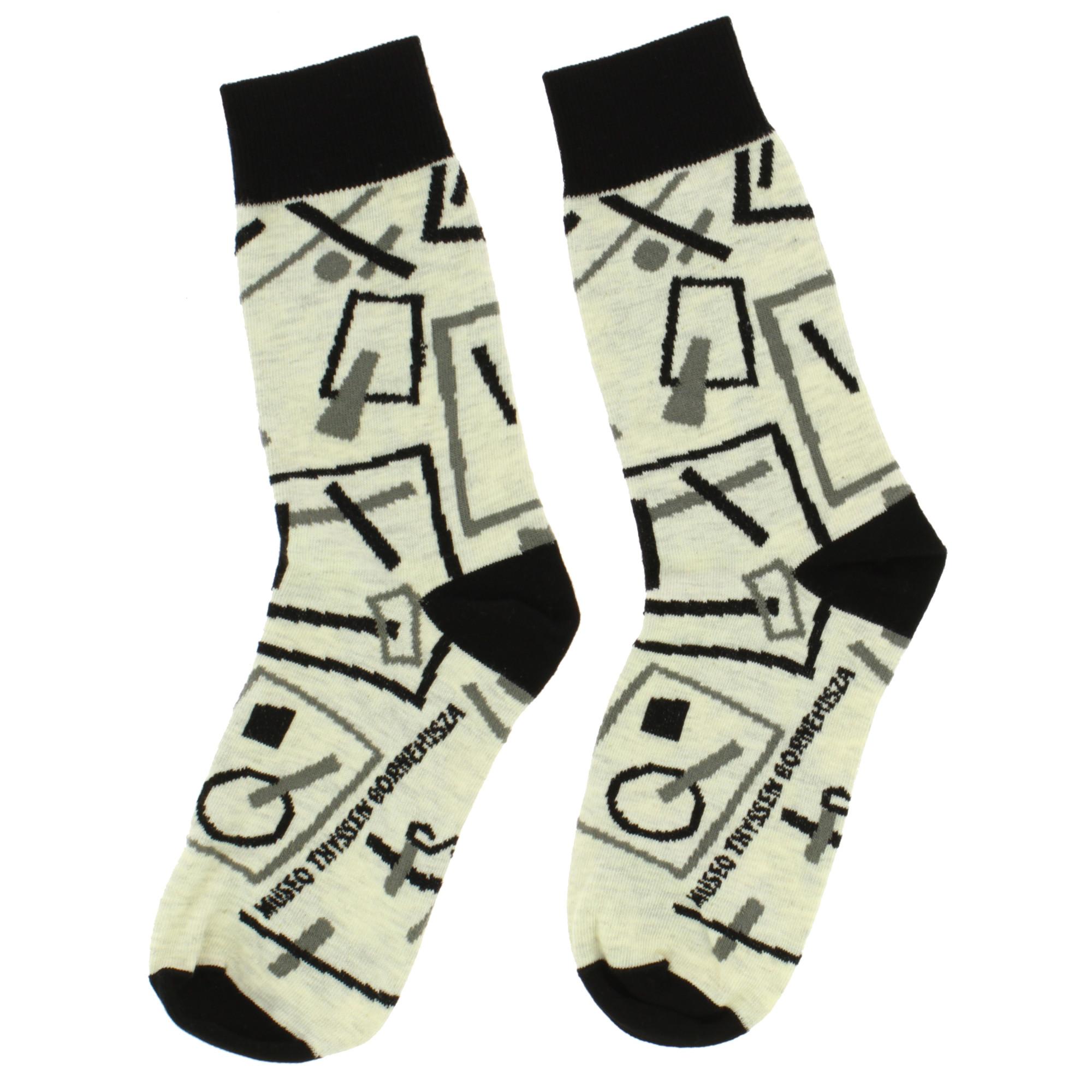 zoom Socks Malévich Suprematist Drawings