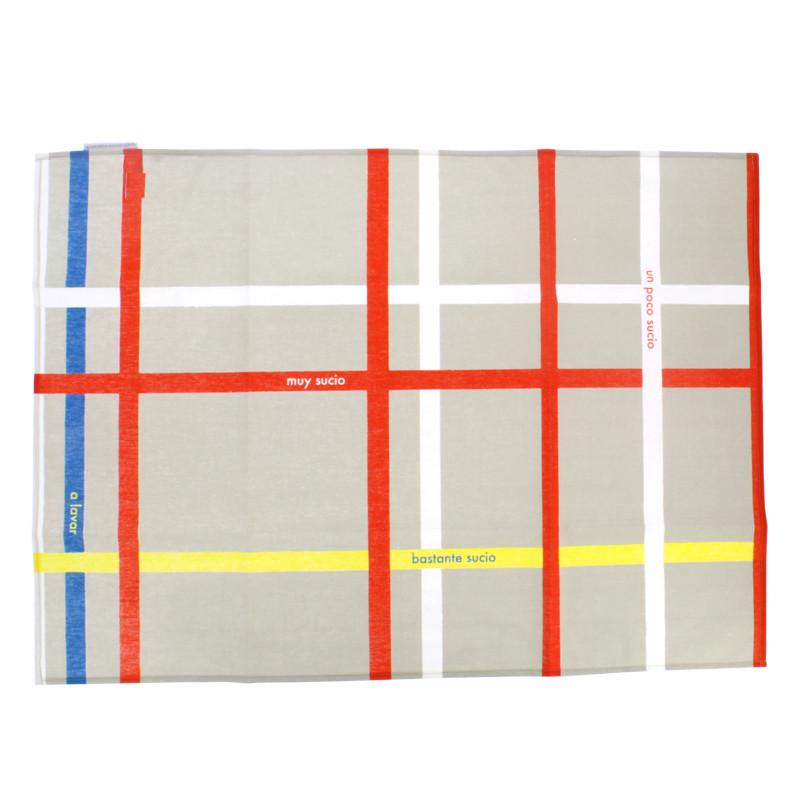 zoom Mondrian New York City Kitchen Towel
