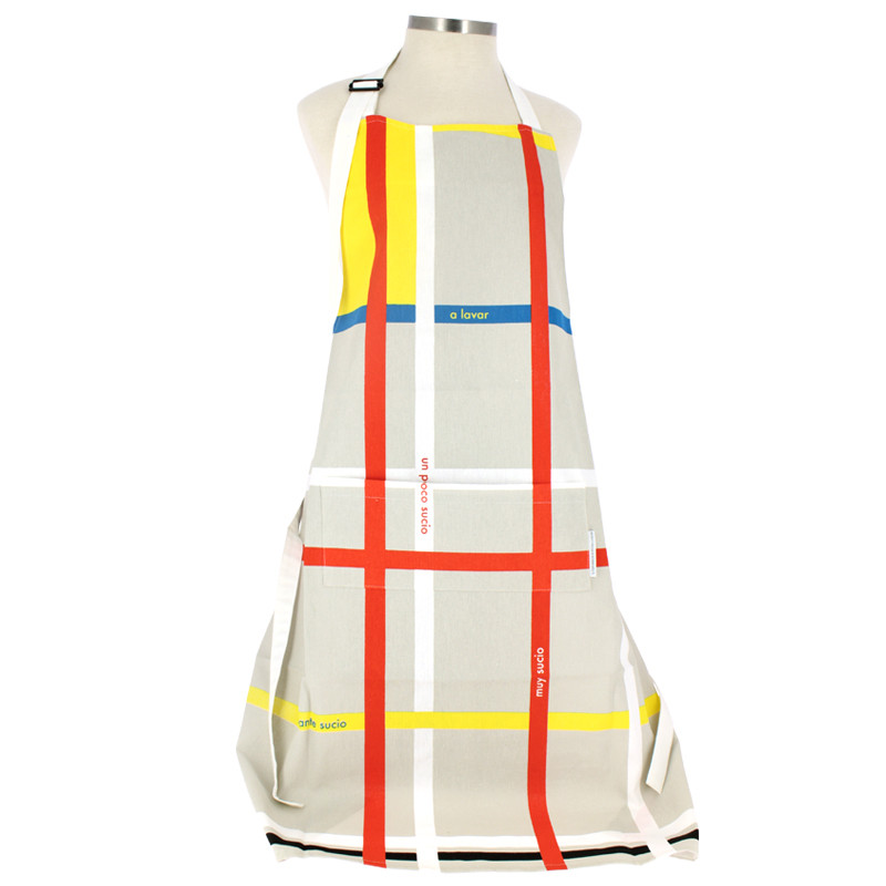 zoom Mondrian Kitchen apron