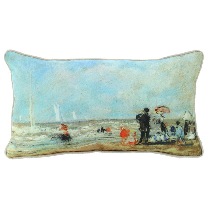 zoom On the Beach Cushion Cover