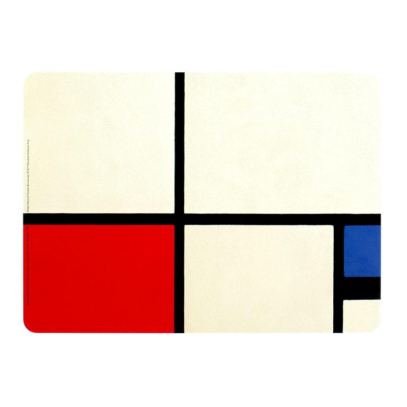 zoom Mondrian Melamine Placemat