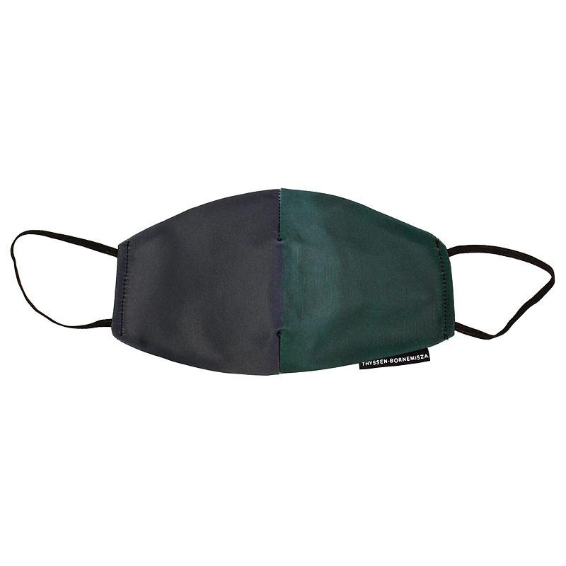 zoom Mark Rothko Green on Maroon Face Mask