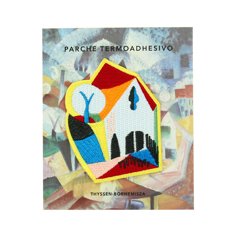 zoom Patch Johannes Itten: Group of Houses in Spring