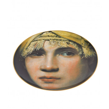 Porcelain Plate Boy in a Turban