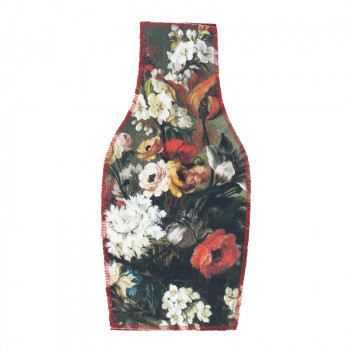 Flowers Basket Textile Vase Cover