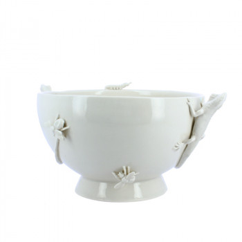 Yukiko Porcelain Salad Bowl