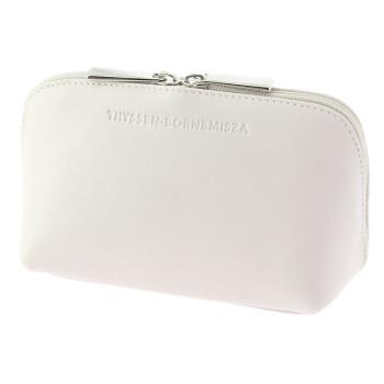 White leather Toiletry bag