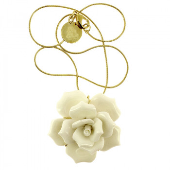 de Heem Rose Pendant by Andrés Gallardo