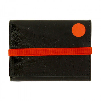 Schwitters Black Wallet