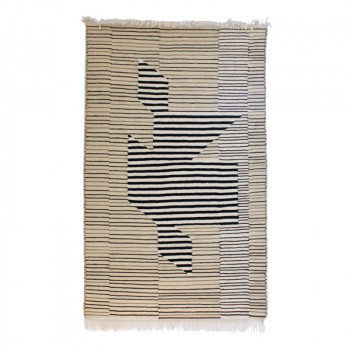 Vasarely Hand-crafted Kilim
