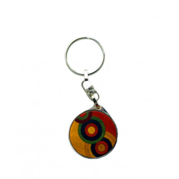 Key ring Robert Delaunay