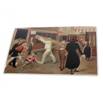 The Street Little Mouse Pad by Balthus
