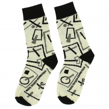 Socks Malévich Suprematist Drawings