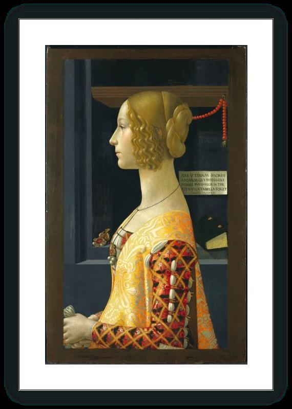 Portrait of Giovanna Tornabuoni